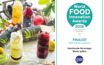 bfresh among best artisan products of World Food Innovation Awards