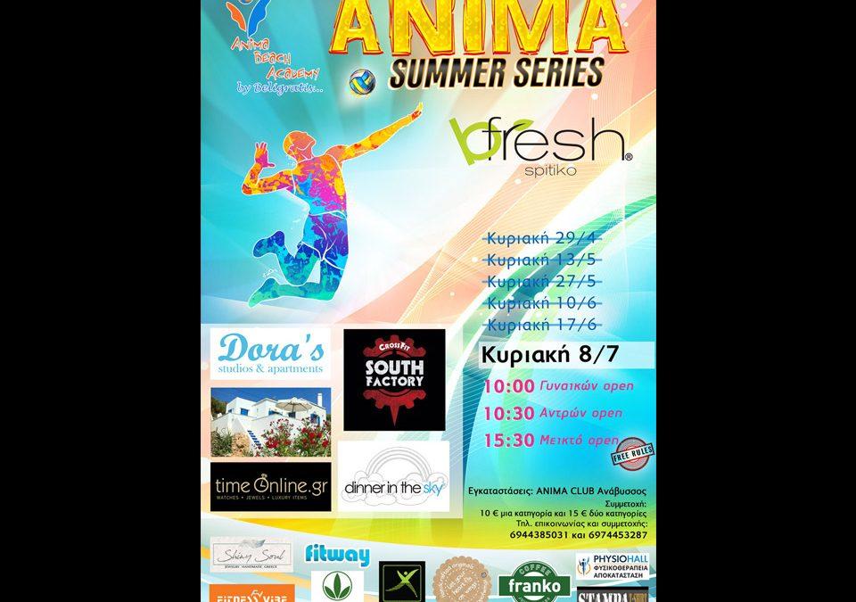 bfresh @ Anima Summer Series – beach volleyball tournament