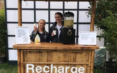 Recharging with bfresh spitiko at Ireland's Electric Picnic Festival