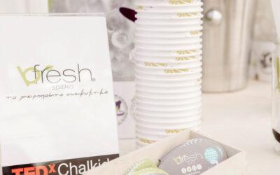 Sharing freshness #bfreshspitiko @TedX Chalkida