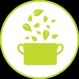 Χρησιμοποιούμε χυμό ρόδι (οχι συμπυκνωμένο) & εκχύλισμα πράσινου τσαγιού.