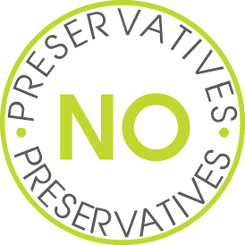 No preservatives.