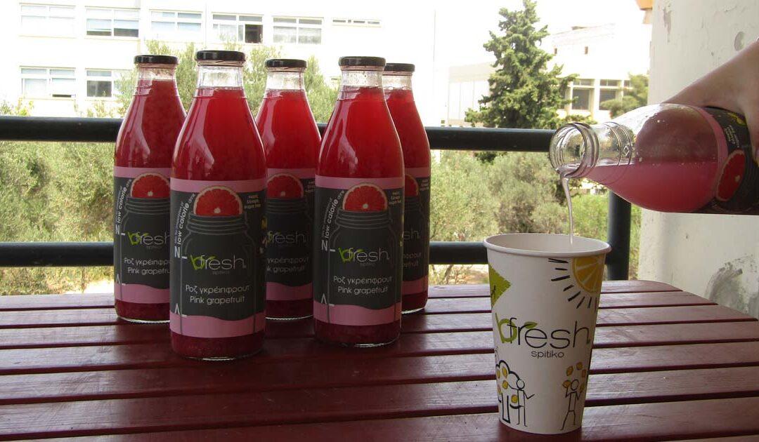 Refreshing Best Patras team with handmade beverages
